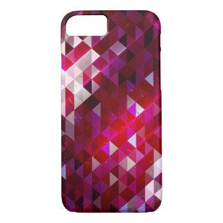 Coque iPhone 8/7 Motif foncé et léger de polygone