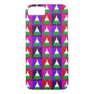 Coque iPhone 8/7 Motif génial d'arbre de Noël