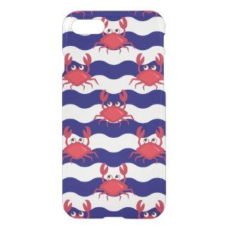 Coque iPhone 8/7 Motif heureux de crabes