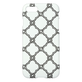 Coque iPhone 8/7 Motif moderne noir/blanc - cas de l'iPhone 7