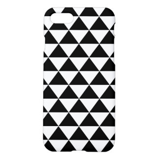 Coque iPhone 8/7 Motif noir et blanc de triangle