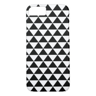 Coque iPhone 8/7 Motif noir et blanc de triangles