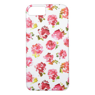 Coque iPhone 8/7 Motif vintage rose mignon et élégant de roses