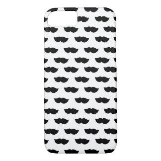 Coque iPhone 8/7 Moustaches noires de fantaisie