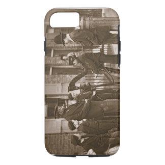 Coque iPhone 8/7 Musiciens italiens de rue, de la 'vie dans la rue