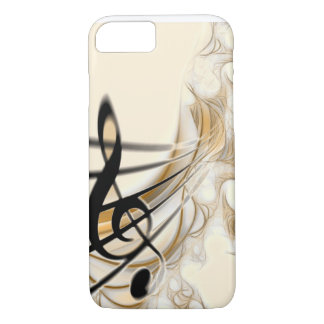 Coque iPhone 8/7 Musique - clef triple
