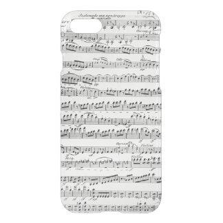 Coque iPhone 8/7 Musique de feuille pour l'ouverture à 'Egmont
