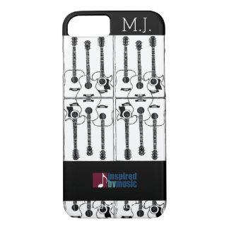 Coque iPhone 8/7 musique-inspirer-conception de guitares
