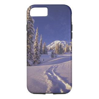 Coque iPhone 8/7 Na, Etats-Unis, Washington, le mont Rainier NP,