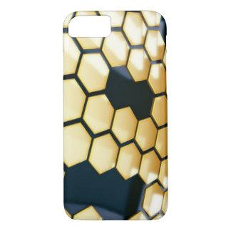 COQUE iPhone 8/7 NID D'ABEILLES 3D
