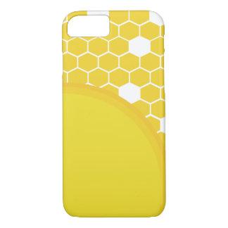 Coque iPhone 8/7 Nid d'abeilles de soleil