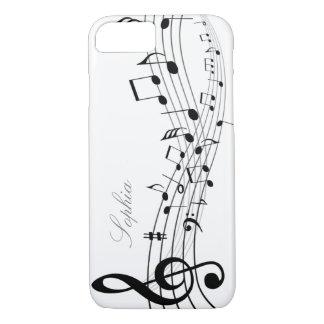 Coque iPhone 8/7 Notes de musique