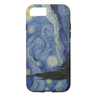 Coque iPhone 8/7 Nuit étoilée vintage de Van Gogh