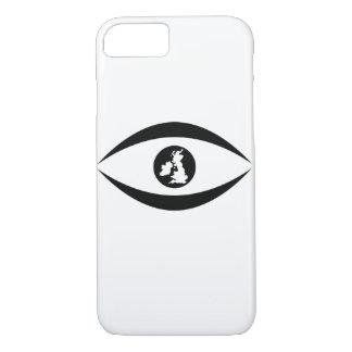 Coque iPhone 8/7 Oeil britannique