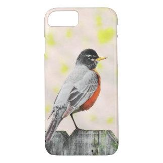 Coque iPhone 8/7 Oiseau sur un cas de téléphone de barrière