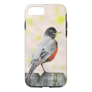 Coque iPhone 8/7 Oiseau sur une barrière
