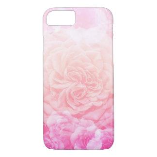 Coque iPhone 8/7 Ombré floral rose