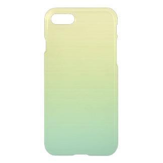 Coque iPhone 8/7 Ombre vert et jaune