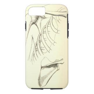 Coque iPhone 8/7 Omoplate vintage de l'anatomie | (circa 1852)