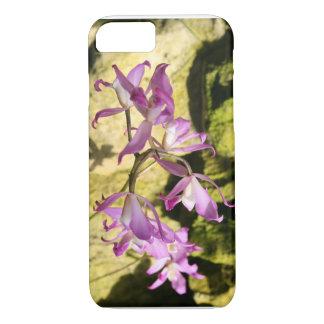 Coque iPhone 8/7 orchidée rose