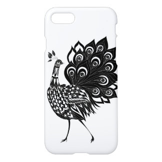 Coque iPhone 8/7 Paon