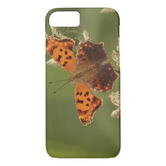 Coque iPhone 8/7 Papillon de point d'interrogation, Polygonia