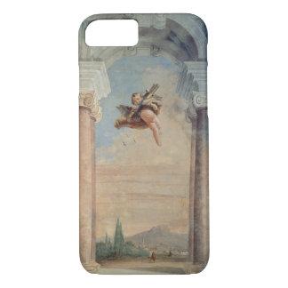 """Coque iPhone 8/7 Paysage avec le cupidon, du """"Foresteria"""" (invité"""