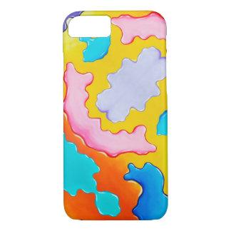 Coque iPhone 8/7 Peignez le cas de téléphone de flaque