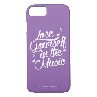 Coque iPhone 8/7 Perdez-vous dans le cas de l'iPhone 7 de musique