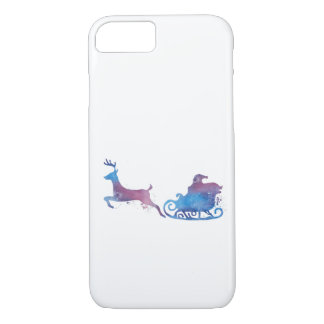 Coque iPhone 8/7 Père Noël et un renne