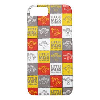 Coque iPhone 8/7 Petite Mlle Sunshine motif rouge et jaune de  
