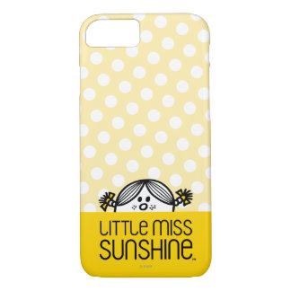 Coque iPhone 8/7 Petite Mlle Sunshine Peeking Over Name