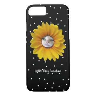 Coque iPhone 8/7 Petite Mlle Sunshine Smiling Cat