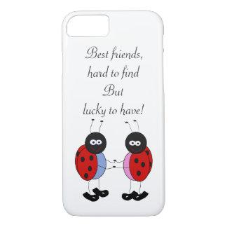 Coque iPhone 8/7 Petites coccinelles de meilleurs amis
