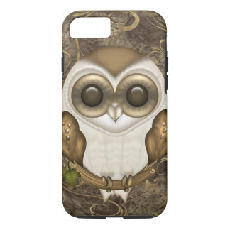 Coque iPhone 8/7 Peu de hibou de grange