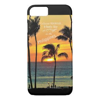 Coque iPhone 8/7 Philippines en Hawaï