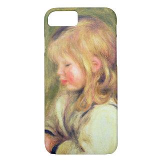 Coque iPhone 8/7 Pierre un enfant de Renoir | dans une lecture