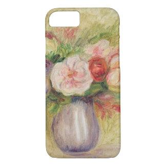 Coque iPhone 8/7 Pierre un vase à Renoir | de fleurs