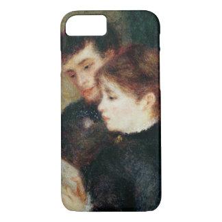 Coque iPhone 8/7 Pierre une lecture de couples de Renoir |