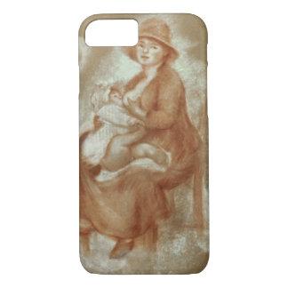Coque iPhone 8/7 Pierre une maternité de Renoir |