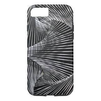 Coque iPhone 8/7 plage noire et blanche