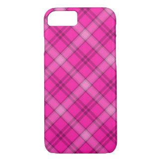 Coque iPhone 8/7 Plaid assez rose