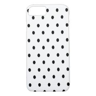 Coque iPhone 8/7 Points noirs de blanc de n