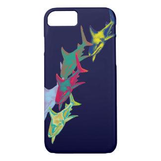 Coque iPhone 8/7 poissons de requin - animaux sauvages