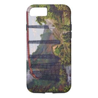 Coque iPhone 8/7 Pont de chemin de fer chez Metlac, du 'album du