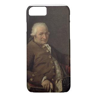 Coque iPhone 8/7 Portrait de Charles-Pierre Pecoul, 1784 (huile sur