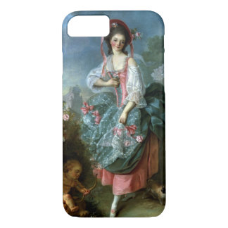 Coque iPhone 8/7 Portrait de Mademoiselle Guimard comme
