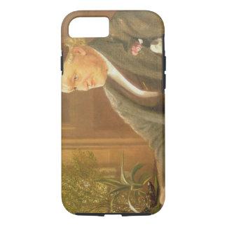 Coque iPhone 8/7 Portrait de William Bell Scott (1811-90), 1886 (oi