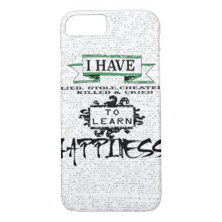 Coque iPhone 8/7 Pour apprendre le bonheur