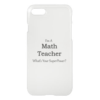 Coque iPhone 8/7 Professeur de maths